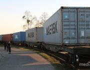 В Китай отправят большой железнодорожный состав с полесской древесиной