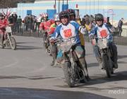 Как проходит Кубок Беларуси по мотоболу в Лунинце