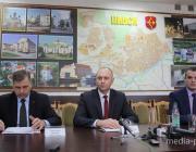 В Пинске прошла встреча руководства города с представителями региональных СМИ
