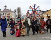 В Пинске продолжаются зимние празднования