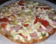 Кабачковая пицца. А вы пробовали?
