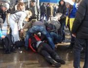 Момент сегодняшнего взрыва в Харькове. (Видео)