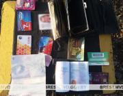 Документы, деньги и зубной протез