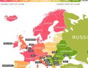 Беларусь названа одной из самых дешевых стран Европы