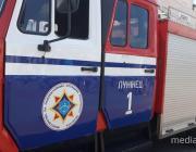 Пенсионерку в Лунинце спасли пожарные