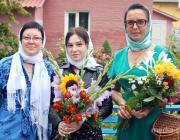 Медовый Спас в Давид-Городке отметили освящением цветов и мёда