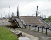 Из-за подъёма уровня воды проехать через Горынь на Рубель проблематично