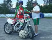 Национальная сборная Беларуси по мотоболу отправляется на Чемпионат Европы в Германию прямиком из Лунинца