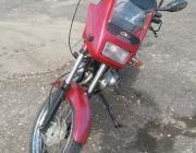Пьяный бросил мотоцикл и пытался убежать огородами