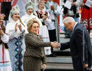 Лукашенко наградил Валентину Матвиенко орденом Франциска Скорины