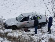 Под Пинском учебный автомобиль вылетел в кювет