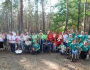 Более 100 человек с инвалидностью приняли участие в слёте в Лунинецком районе