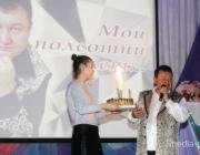 На «Полсотни лет…» Олегу Жумашеву зал аплодировал стоя