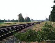 Буря в Пинском районе остановила поезд