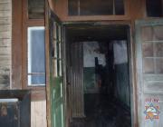 На пожаре в Пинске спасли мужчину и женщину