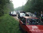 Дорожный коллапс случился на Белом озере в воскресенье
