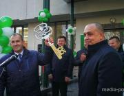 Обновленный «Беларусбанк» открыли в Лунинце