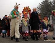 Колядное шествие прошло по улицам Пинска