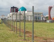 Возле Дворца независимости готовят площадку под посольство Китая. Землю передали на 70 лет