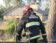 Школьник сообщил о пожаре. И спас человека