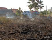 Под Пинском чуть не сожгли деревню