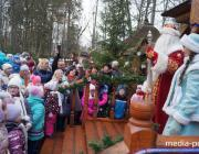 В бывших владениях князей Радзивиллов в Столине создали резиденцию Деда Мороза
