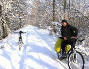 Парень из Лунинецкого района мечтает проехать на велосипеде вокруг Беларуси
