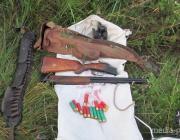 У браконьеров изъяли 3.5 км рыболовных сетей и 4 охотничьих ружья