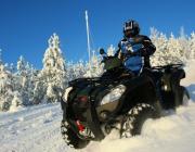 Лукашенко потребовал жестко наказать крутых, разъезжающих на квадроциклах и снегоходах