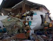 В Алматы самолет взлетел и рухнул за пределами аэродрома: есть выжившие