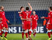 Сборная Беларуси по футболу обыграла Сан-Марино и вышла в плей-офф Лиги наций