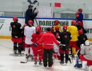 В Пинск приехали хоккеисты минского «Динамо»