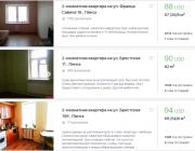Сколько стоит снять 2-комнатную квартиру в Пинске?