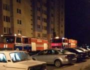 В Пинске из горящей квартиры на 9-м этаже выбросился хозяин и погиб