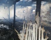 Телятник в Нижнем Теребежове мог сгореть из-за удара молнии