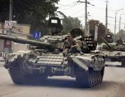 Украинские разведчики засняли, как танки России ровняют с землей жилой район
