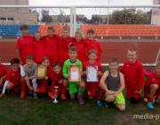 Лунинецкие мальчишки - в финале областных соревнований по футболу