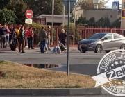 В Пинске автомобиль сбил женщину