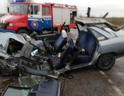 В Пинском районе столкнулись «Ауди» и «Фольксваген». Двое пострадавших