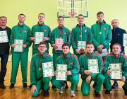 Пинчане взяли бронзу на республике по баскетболу