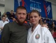 Каратистка из Столина завоевала бронзовую медаль на турнире в Москве