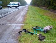 Велосипедистка погибла под колёсами «Фольксвагена»