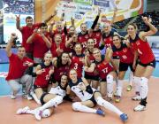 Белорусские волейболистки впервые за 22 года вышли в восьмерку сильнейших на чемпионате Европы