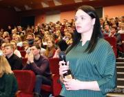 Анатолий Лис встретился со студентами и сотрудниками ПолесГУ