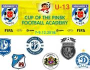 «Кубок футбольной академии» пройдёт в Пинске