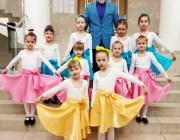 Блестяще выступили на международной сцене воспитанницы Столинской детской школы искусств