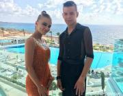 Пара из Лунинца вошла в десятку сильнейших танцоров фестиваля на Кипре
