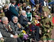 Лунинец празднует День Победы: парад, концерт и радости по интересам