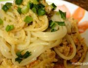 КАК разнообразить блюдо из спагетти