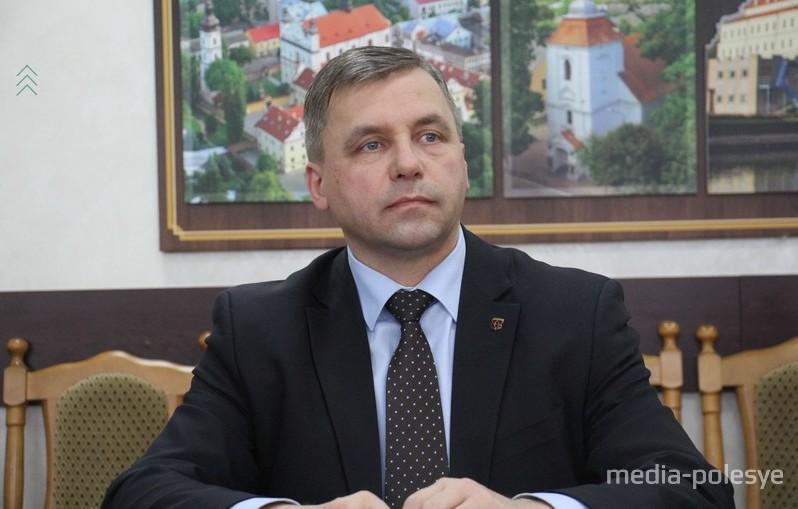 Михаил Самолазов ушёл на повышение. Фото из архива Медиа-Полесья